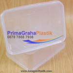 (CRP) Kotak Plastik  750 ml Microwaveable & Freezer (Stock : Ready)