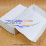 Wadah Kertas Murah (Ivory) – Tray Paper CFC, A&W, MCD – Medium – Large (Stock : Ready)