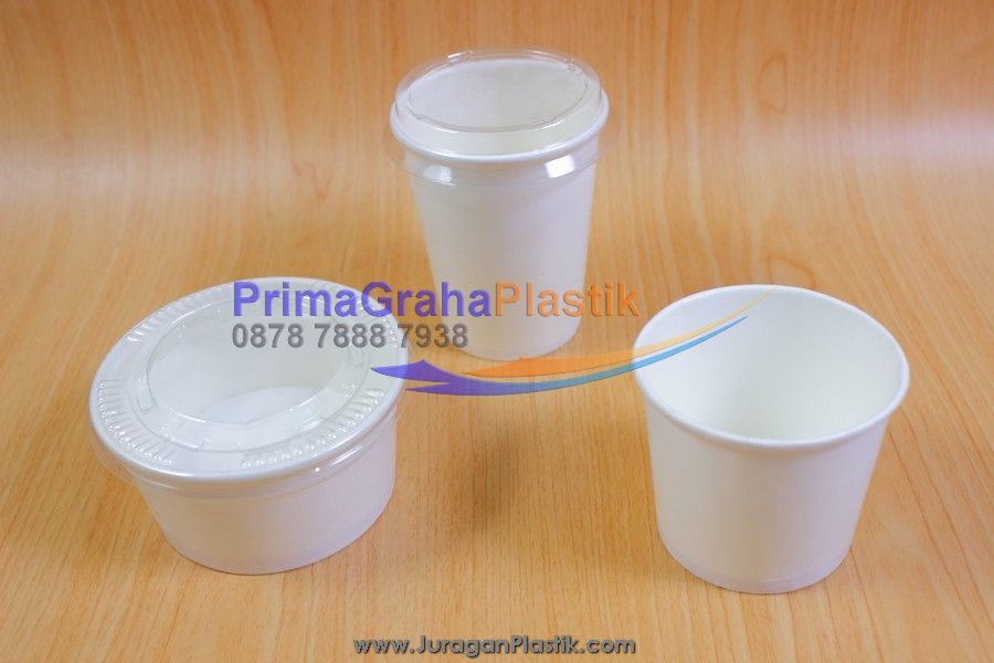Paper Cup Ice Cream 4 5 6 Oz Stock Indent Home