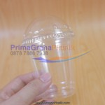 (SIP) Drinking Cup 8 Oz + Tutup Dome / Flat (Stock : Ready)