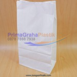 "Paper Food Bag Anti Minyak ""Grease Proof""  50 GSM (Stock : Ready)"