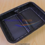 Box Bento 2 Sekat / Partisi (Stock : Ready)