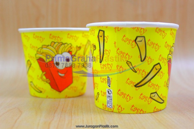 Bowl Paper French fries (3)