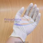 "Sarung Tangan Karet (Latex) – Untuk Masak & Medis ""For Food Contact & Medical"" (Stock : Indent)"