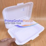 (TPF 1A) Lunch Box Plastic – Emboss Selamat Menikmati (Stock : Indent)