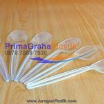 (FIM / JMP / GW7) Sendok / Garpu Makan Panjang Bening Transparan (Stock : Ready)
