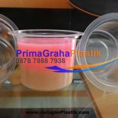 Gelas Plastik 90 ml utk Puding Agar agar/ Tester
