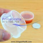 Cup Sambal / Fla Puding 20 ml (Mini Size) Microwaveable (Stock : Ready)