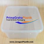 Kotak Oven 1500 ml (SQ) SQUARE Microwaveable & Freezer (Stock : Ready)