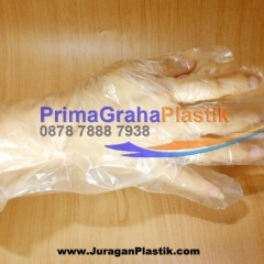 Sarung tangan plastik Makanan