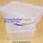 (CRP) Kotak Plastik Makanan 650 ml Microwaveable & Freezer (Stock : Ready)