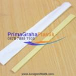 Sumpit Bambu Bungkus Kertas Hygienis – PLAIN Full Paper Cover  (Stock : Ready)