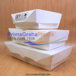 Lunch Box Paper Hamburger, Nasi Goreng, Martabak – SMALL, MEDIUM, LARGE (Stock : Ready)