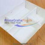 Box Bento Paper – 4 Sekat Food Grade – XL (Stock : Ready)