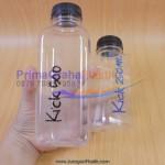 "Botol Juice Buah, Susu dll ""Kick 250 & 500 ml"" (Stock : Ready)"