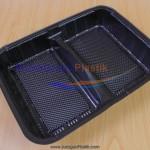 Box Bento 2 Sekat / Partisi (Stock : Ready)