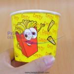 """Bowl Kentang Goreng Mini TASTY —– """"240 ml / 8 Oz"""" – Tanpa Tutup (Stock : KOSONG)"""