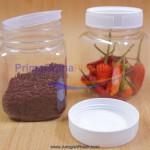 """Jar Bumbu SQUARE """"200 ml"""" Merica, Garam, Gula + Plug + Tutup  (Stock : KOSONG & TIDAK Tersedia Lagi)"""
