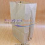 Paper Food Bag Coklat (Stock : Ready)