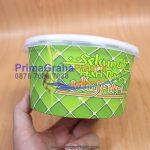 Mangkok Kertas Bowl Paper 650 ml / 22 Oz – Edisi Lebaran / Idul Fitri (Stock ; Ready)